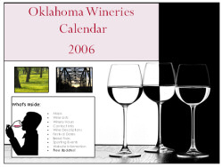 2006 Oklahoma Wineries Gift Calendar